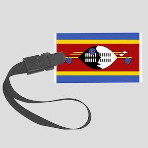 Swaziland Large Luggage Tag