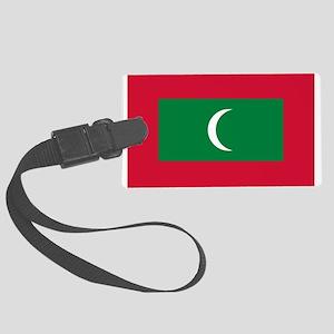 Maldives Large Luggage Tag