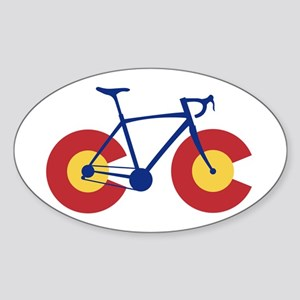 Colorado Flag Bicycle Sticker