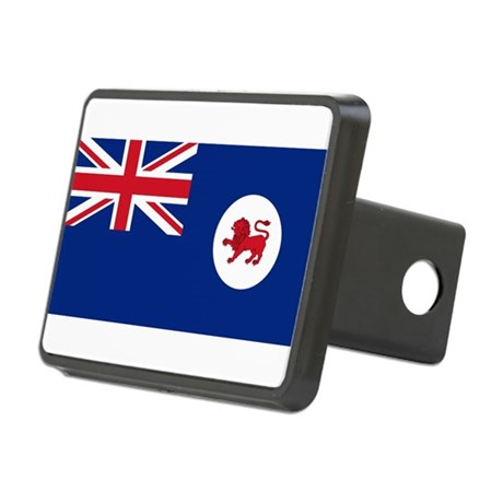 Flag_of_Tasmania.png Rectangular Hitch Cover