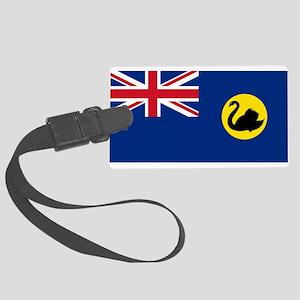 Flag_of_Western_Australia Large Luggage Tag