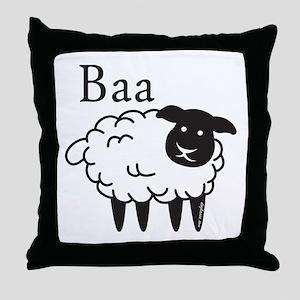 Baa Throw Pillow