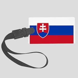 Slovakia Large Luggage Tag