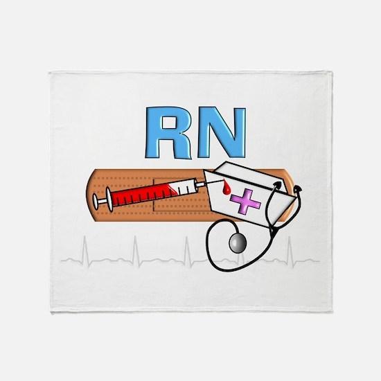 RN Blue.PNG Throw Blanket