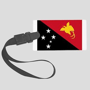 Papua_New_Guinea Large Luggage Tag