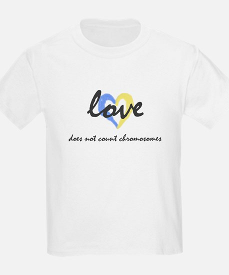 """Love does not count chromosomes"" Kids T-Shirt"