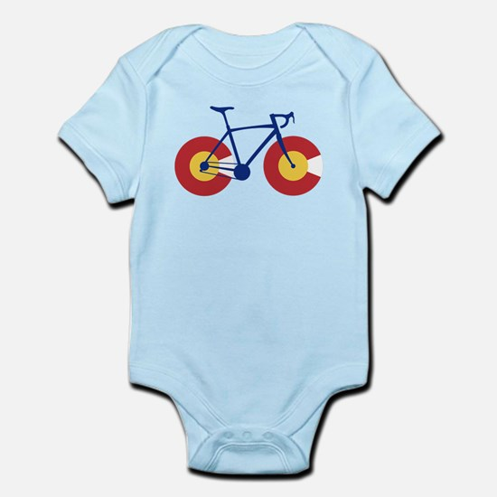 Colorado Flag Bicycle Body Suit