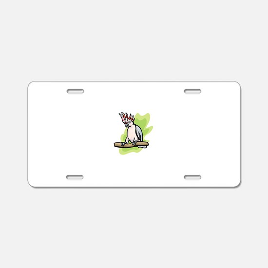 Parrot Aluminum License Plate