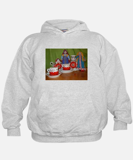 Russian Doll Tea Time Hoodie
