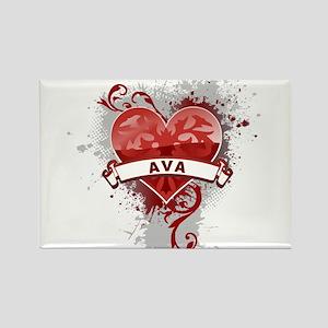Love Ava Rectangle Magnet