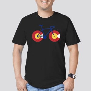 Colorado Flag Bicycle T-Shirt