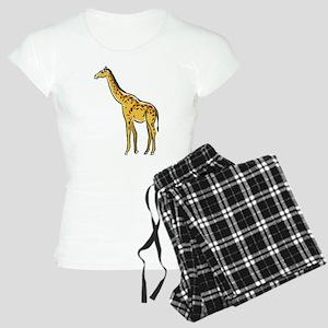 Giraffe Women's Light Pajamas