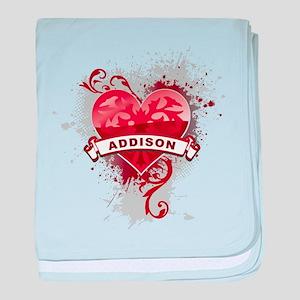 Love Addison baby blanket