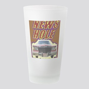 News Hole chaos Frosted Drinking Glass