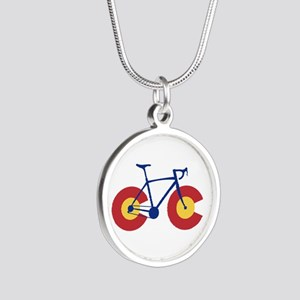 Colorado Flag Bicycle Necklaces