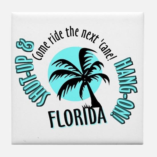 FLORIDA Come Ride the Hurrica Tile Coaster