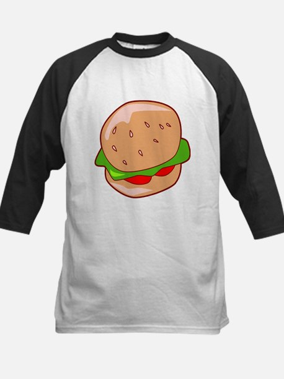 Burger Kids Baseball Jersey