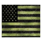 Grunge American Flag duvet design King Duvet