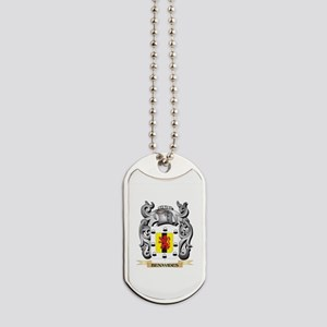 Benavides Family Crest - Benavides Coat o Dog Tags