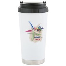 It Makes a Difference Stainless Steel Travel Mug