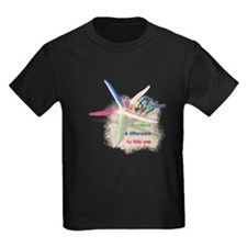 It Makes a Difference Kids Dark T-Shirt