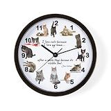 Cats Wall Clocks