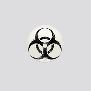 Biohazard Symbol Mini Button