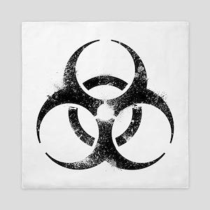 Biohazard Symbol Queen Duvet