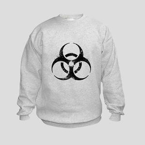 Biohazard Symbol Kids Sweatshirt