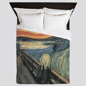 The Scream painting Queen Duvet