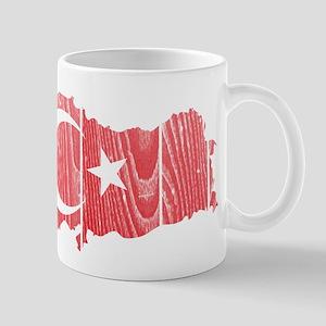 Turkey Flag And Map Mug