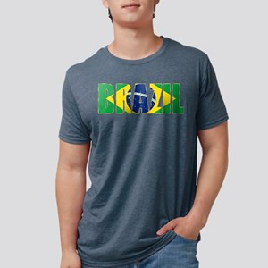 Brazil Logo Mens Tri-blend T-Shirt