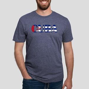 Cuba Logo Mens Tri-blend T-Shirt