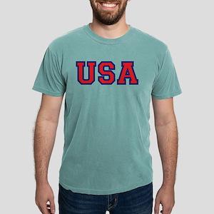 USA Logo Mens Comfort Colors Shirt