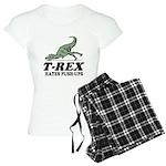 T-REX Hates Pushups Women's Light Pajamas