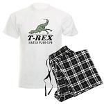 T-REX Hates Pushups Men's Light Pajamas