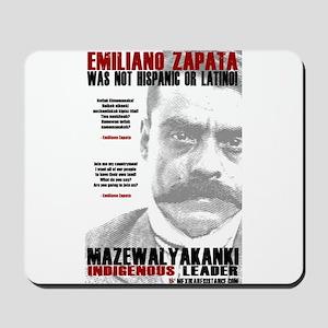 Emiliano Zapata: Indigenous Leader Mousepad