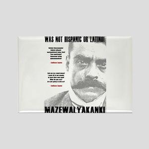 Emiliano Zapata: Indigenous Leader Rectangle Magne