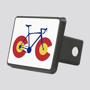 Colorado Flag Bicycle Rectangular Hitch Cover
