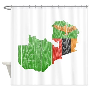 South Africa Pride Shower Curtains