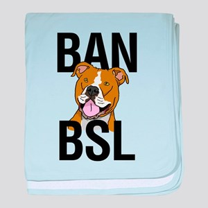 Ban BSL baby blanket