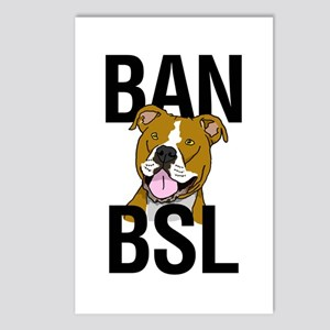 Ban BSL Postcards (Package of 8)