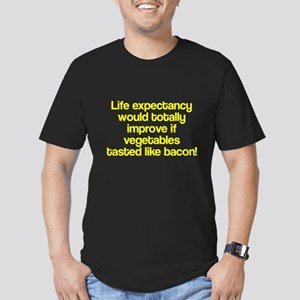 Vegetables Tasted Like Bacon Men's Fitted T-Shirt
