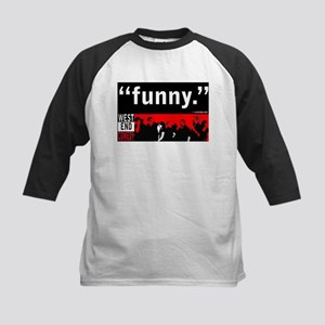 Theyre funny Kids Baseball Jersey