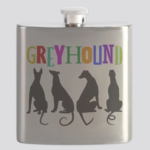 Tails of Love Flask