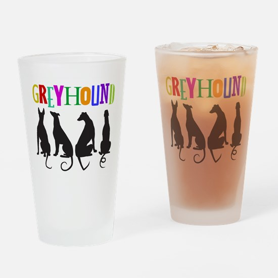 Tails of Love Drinking Glass
