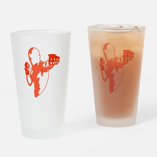 Punch (red) Drinking Glass