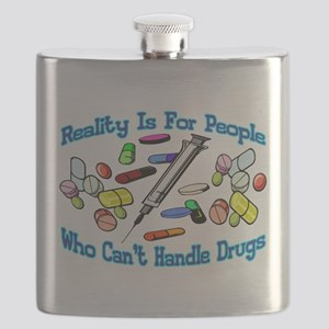 Reality Is For People Flask