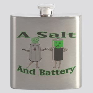 A Salt And Battery Flask