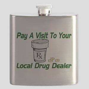 Local Drug Dealer Flask